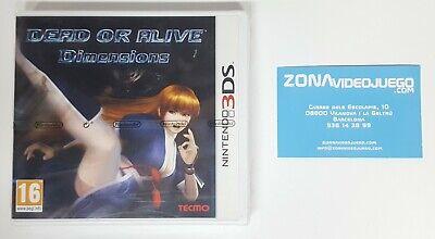 Dead or Alive Dimensions, Nintendo 3ds, Pal-Esp, Nuevo