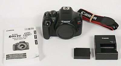 ** EXCELLENT ** Canon EOS Rebel T6 18MP Digital SLR Camera - Black (Body Only)