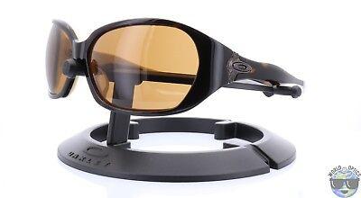 Oakley Betray Women's Sunglasses 05-899 Tortoise Cream w/ Dark Bronze (Betray Oakley Sunglasses)