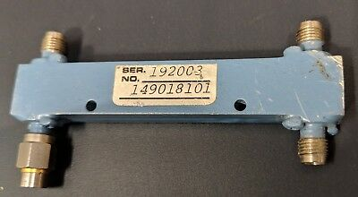 Mac Technology C3203-30 Dual Directional Coupler L-band 1-2 Ghz 30 Db