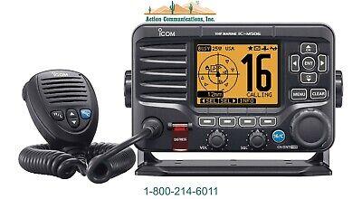 New Icom M506 01 Vhf 25w Ipx8 Class D Dsc Marine Radio
