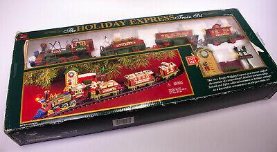 Vintage New Bright The Holiday Express # 178 Train Set Christmas Train Set RARE