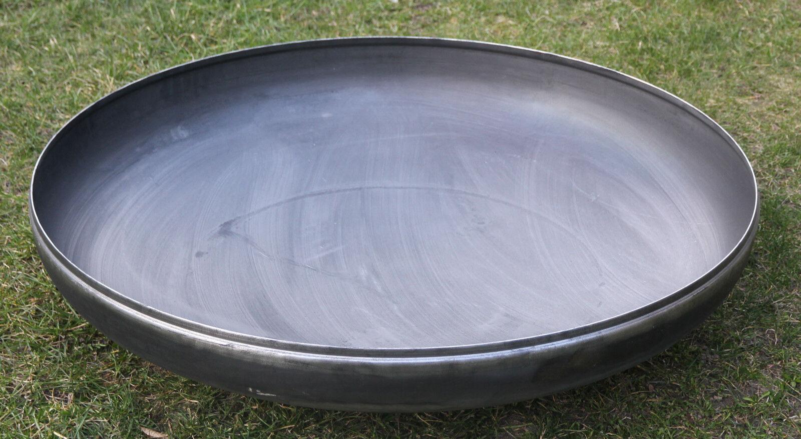 Feuerschale Klöpperboden 600 mm 60 cm Wanddicke 4 mm