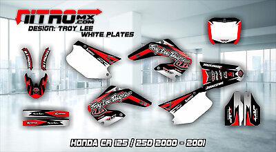 Honda CR 125 / 250 2000 - 2001 Graphics Kit Decals Design Stickers Motocross MX