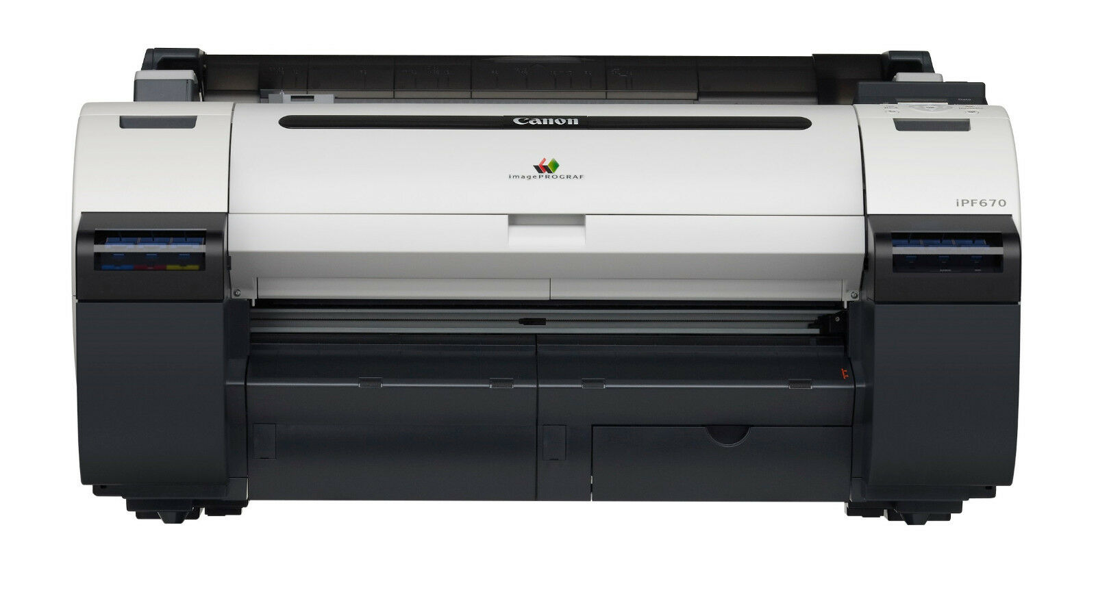 Canon IPF670 Inkjet Printer Plotter 24 Inch New With 1