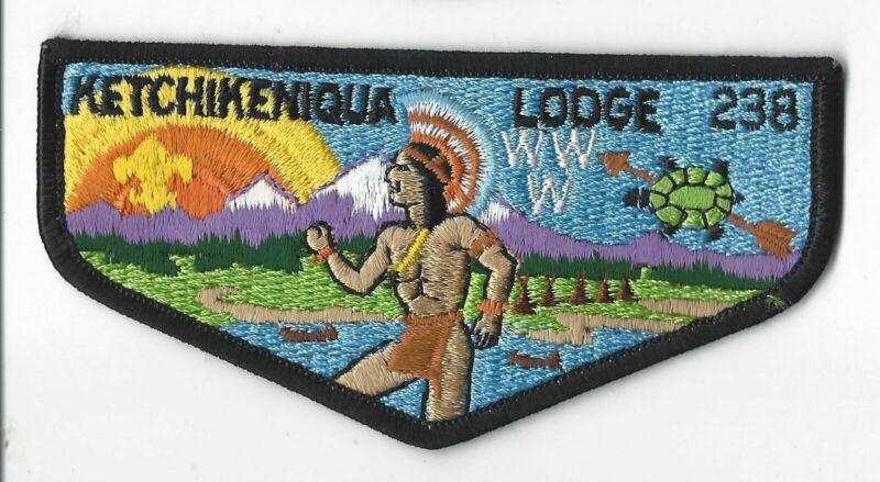OA 238 Ketchikeniqua WWW S4b Flap MAR Bdr. Shawnee OH [MO-1716]