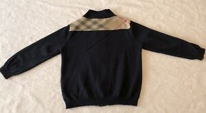 Burberry w Zip Up Sweater, size 3Y 98cm