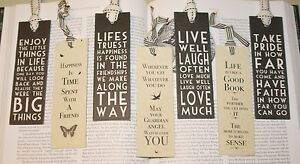 Sayings-Bookmark-Book-Mark-East-of-India-Fun-Friendship-Gifts-Take-Pride
