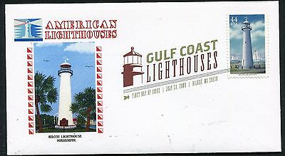 4411  GULF COAST LIGHTHOUSES  BILOXI LIGHTHOUSE, MS  DIGITAL COLOR POSTMARK