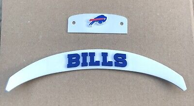 Buffalo Bills Front And Rear Helmet 3D Bumpers For Full Size Riddell Speed