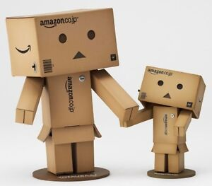 Danboard Big & Mini Amazon .co.jp Box Ver Revoltech Danbo Kaiyodo Yotsuba Japan