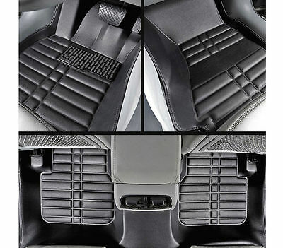 For BMW X3 2003 2010 FLY5D Car Floor Mats Front  Rear Liner Auto Waterproof Mat
