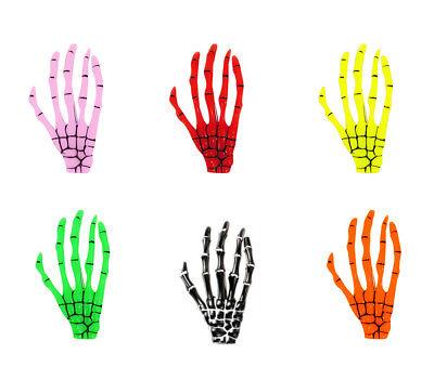 Skeleton Bone Hand Grip. Crocodile Clip. Halloween. Goth. Kreeps. UK Seller. XXL - Halloween Hair Accessories Uk