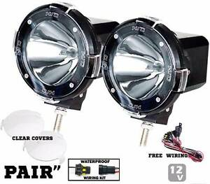 "2 x 12V x 100W 4"" HID Xenon Driving Lights + Free Wiring Loom Point Cook Wyndham Area Preview"