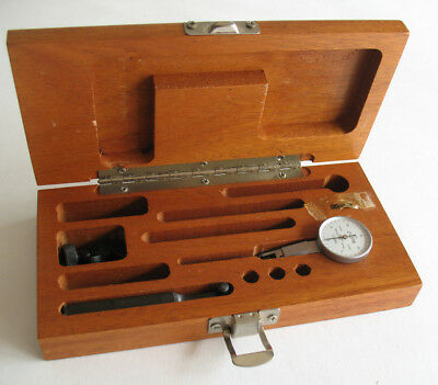 Brown Sharpe Bestest 7029-2 .001 Swiss Made Dial Indicator Kit W Tools