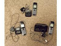 PANASONIC TRIPLE CORDLESS TELEPHONE