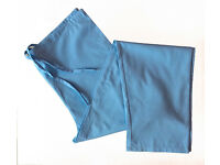FREE shipping! NEW light blue medical hospital pants size M. Silver Lining Apprel scrubs.Staff nurse
