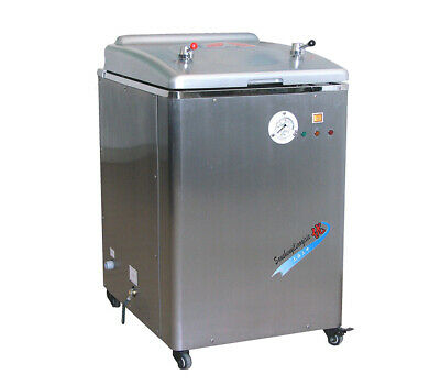 30l Automatic Water Supply Vertical Pressure Steam Sterilizer Lab Autoclave 220v