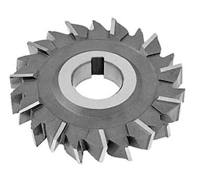 4 X 932 Wide X 1-14 Hole Hss Staggered Tooth Side Milling Cutter Toolmex