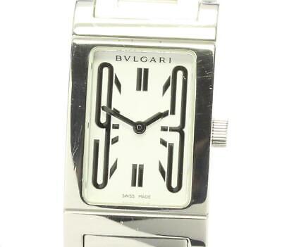 BVLGARI Rettangolo RT39S White Dial Quartz Ladies Watch_571388