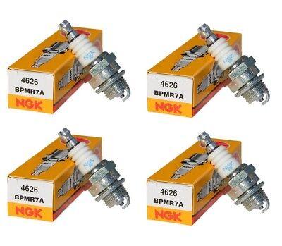 4 NGK BPMR7A 4626 Spark Plug Fits Stihl Replaces Bosch WSR6F 7547 Champion RCJ6Y