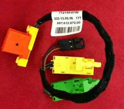 Genuine OEM Porsche 99761267200 steering wheel harness cable. 997 911 987.  19B3