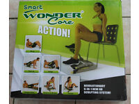 Wonder Core Smart Total Body Exercise System Ab Toning Workout Fitness Trainer Home Gym