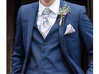 Twobirds platinum grey cravats x3
