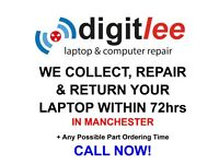 DigitLee Laptop & Computer Repair - We Collect, Repair & Return your Laptop within 72hrs *