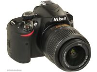 Nikon D3200 for sale, barely used