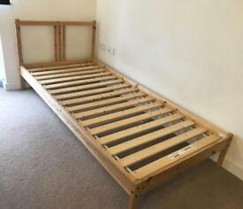 IKEA Fjellse single wooden bed frame RRP£90