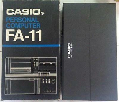 Casio FA-11 Personal Computer -BRAND NEW IN case and box