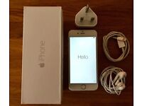 iPhone 6 64gb silver/white, locked to EE, boxed