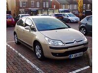 2008 Citroen C4, 1.6 SX Petrol
