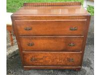 Lovely vintage chest of drawers vgc