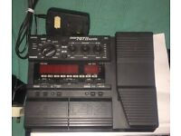 ZOOM 707 II GUITAR MULTI EFFECTS PEDAL WITH PSU