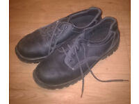Steel Toe Cap Safety Shoes (Size 10)