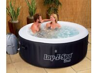 Miami 2-4 person Lay-Z-Spa inflatable hot tub.