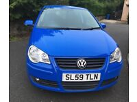 VW POLO. FULL YEAR MOT. FSH. LOW MILEAGE. EXCELLENT CONDITION.