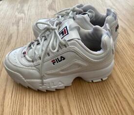 Girls fila trainers size 2.5
