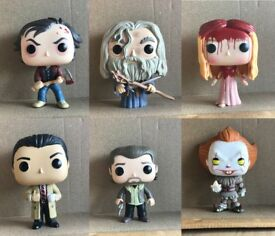 Funko Pop's. £5.00 each. No box.