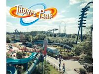 2 thorpe park tickets for 29th June 2018