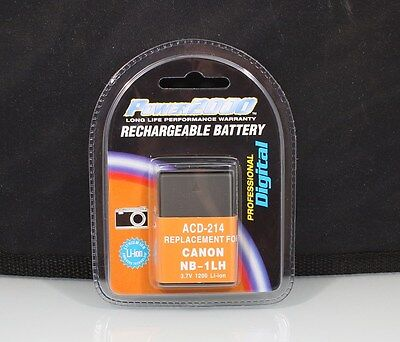 184402 RECHARGEABLE NB-1LH REPLACEMENT BATTERY FOR CANON NEW (Canon Nb 1lh Rechargeable Battery)