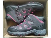 Brand New Ladies McKinley Pink and Grey Hiking Boots Size 7