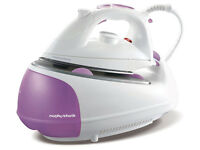 Morphy Richards 333020 Jet Steam Generator, 2200 W - Pink/White