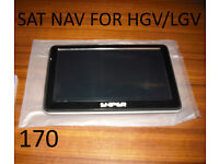 Sat Nav device for HGV- LGV