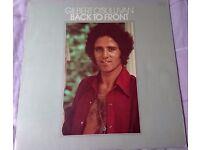 Gilbert O'Sullivan Back to Front Vinyl Album LP (MAM-SS 502)