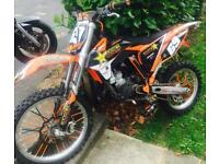 Ktm Sx 85/105 big wheel 2014 tricked up SWAPS not Yz cr kx rm yzf crf kxf rmz husky
