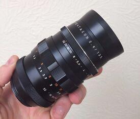 """Pentacon 135mm f/2.8 M42 Screwmount Lens """"THE BOKEH MONSTER"""""""