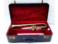 Vintage Brass Trumpet - Corton 71 Foreign (542800) w/ Original Case - 1960's